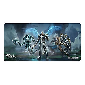 Requin blanc TMP-110 1375x675mm Phageborn Gaming Mousepad noir/bleu TMP-ASCENSIVE