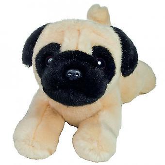 Hermann Teddy Knuffel Hond Mopshond Liggend