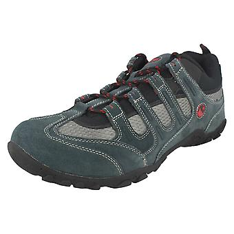 Mens 50 Peaks by Hi Tec Walking Trainers Quadra Classic