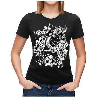 Liquor brand - centaur - womens capsleeve t-shirt