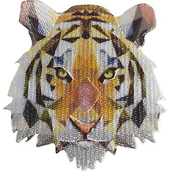 Patch - C&D - Tigers Geometric New Gifts p-4647