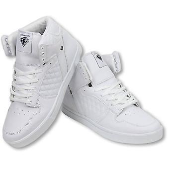 Shoes - Sneaker High - Jailor White Matt