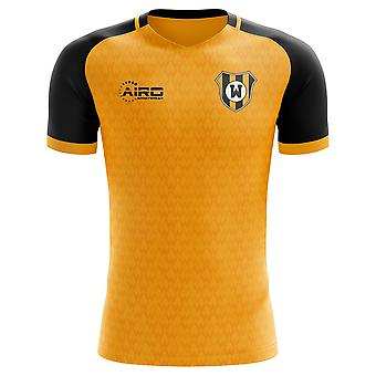 2019-2020 Wolves Concept Training Shirt (Gold) - Adult Long Sleeve