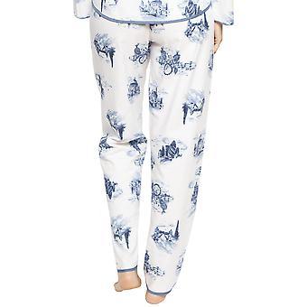 Cyberjammies 4237 vrouwen ' s Harper wit mix Londen print pyjama broek