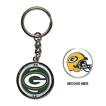 Wincraft SPINNER Schlüsselanhänger - NFL Green Bay Packers