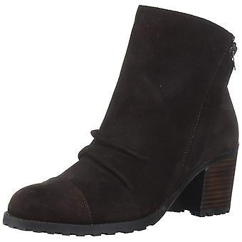 Aerosoles dame provinsen læder mandel tå ankel mode støvler