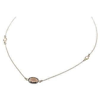 Gemshine Necklace with Donna vermeil pendant - C2rqumo