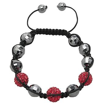Carlo Monti JCM1154-592 - Women's bracelet with hematite - Fabric