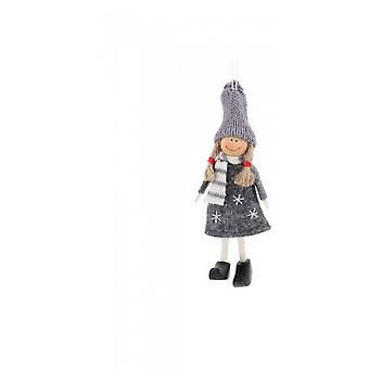 CGB Giftware Christmas Happy Girl Hanging Decoration