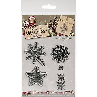 Find It Trading Yvonne Creations Die-Twinkling Star, Célébration de Noel