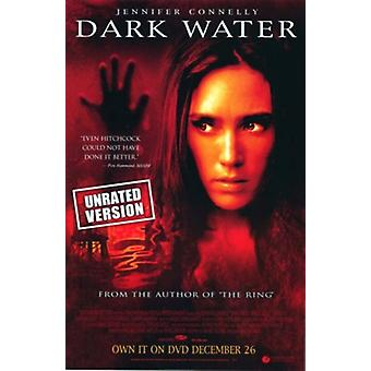 Dark Water (Single Sided Video) (2005) Original Video Poster