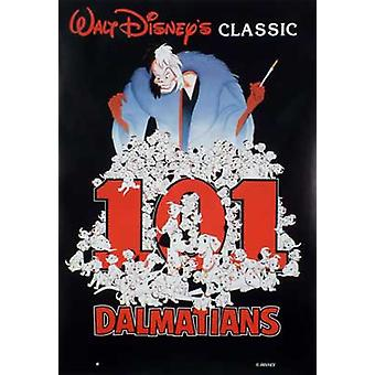 101 Dalmatians (Single Sided Reprint) Reprint Poster
