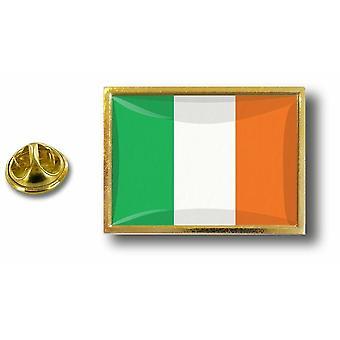 باين بينس شارة دبوس أبوس؛ معدن مع أيرلندا الأيرلندية العلم الفراشة قرصة
