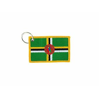 Cle Cles Key Brode Patch Ecusson Badge Flag Dominic Dominican