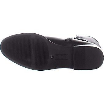 A35 Kallumm brede kalf knie hoge laarzen, zwart, 5,5 ons