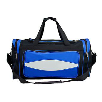 20 Inch Blue 600HD Tuff Cloth Canvas Duffel Bag