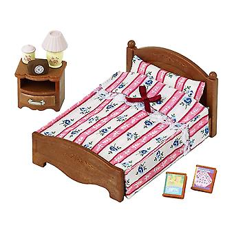 Sylvanian familier-semi-Double Bed Toy