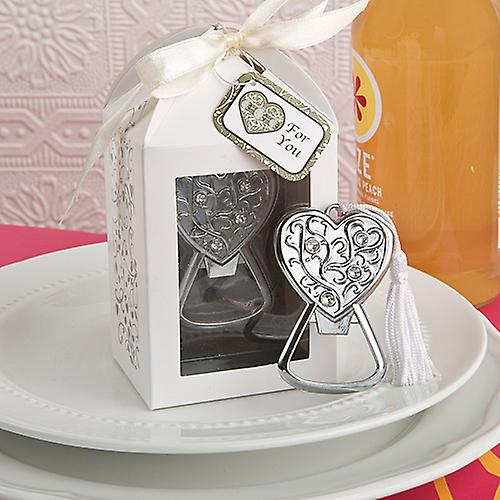 Spectacularly Packaged Heart Bottle Opener