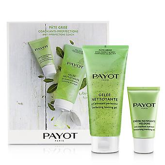 Pate Grise Anti-imperfections Coach Kit : 1x Foaming Gel 200ml + 1x Moisturising Matifying Care 50ml - 2pcs