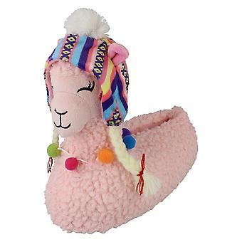 Spot On Childrens Llama Slippers X2105
