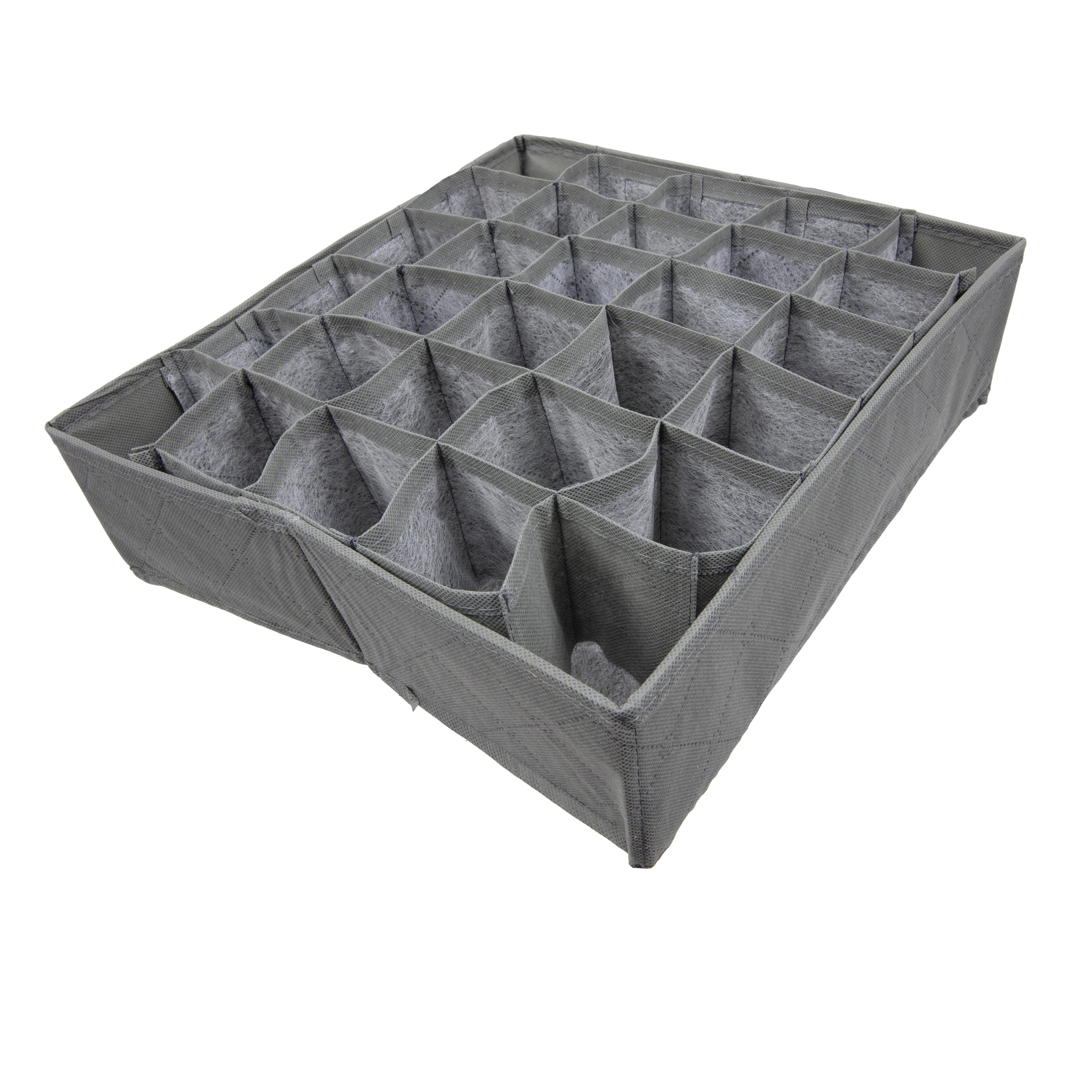 TRIXES Storage Box For Socks Ties Underwear Drawer Wardrobe Organiser Container