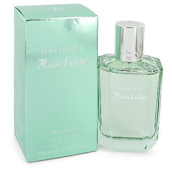 Cool Water Run Wild Eau De Parfum Spray By Davidoff   546826 100 ml