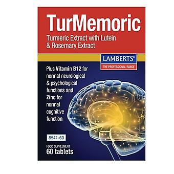 Lamberts TurMemoric Tablets 60 (8541-60)