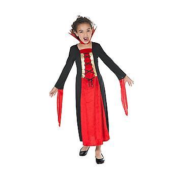 Gothic vampire bat child costume