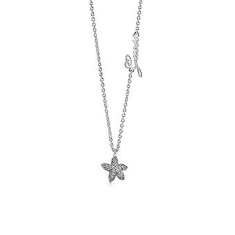 Halsband och hänge antar SJÖSTJÄRNA UBN78005 - halsband och pendel stål cha ingen duk havet kristaller Swarovski kvinna