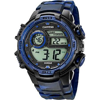 Calypso K5723-1 watch - ur chronograph Camouflage mand