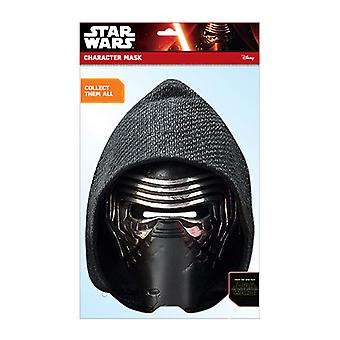 Kylo Ren Official Star Wars The Force Awakens Card Party Fancy Dress Mask