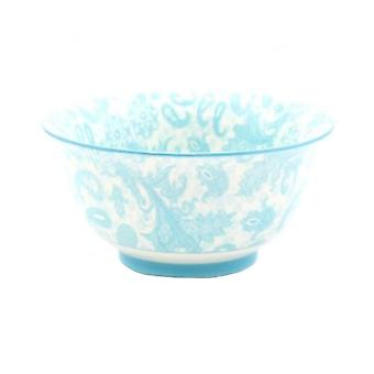 Lesser & Pavey Ceramic Oriental Rice Bowls - Blue