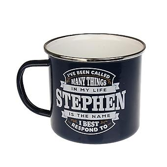 Historia & Heraldry Stephen Tin Mug 82