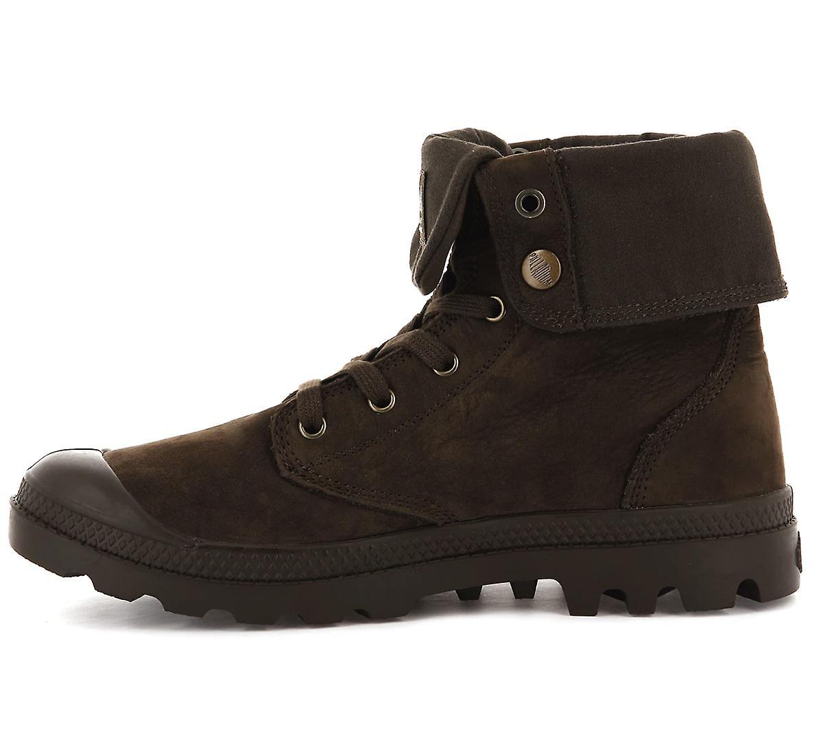 Palladium Pampa Baggy NBK U 76434-255-M Herren Boots Braun Sneakers Sportschuhe