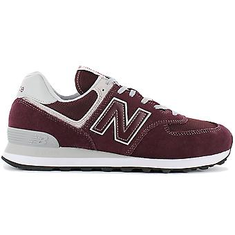 New Balance Classics ML574EGB Men's Shoes Red Sneakers Sports Shoes