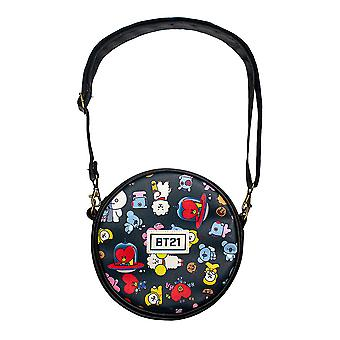 Shoulder bag, round - BT21