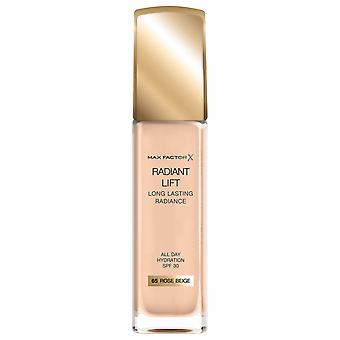 Max Factor Radiant Lift Foundation 30ml - 65 Rose Beige