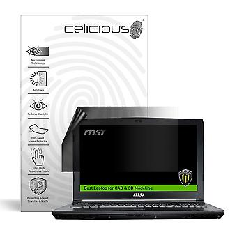 Celicious Privacy Lite 2-Way Anti-Glare Anti-Spy Filter Screen Protector Film Compatible with MSI Workstation WE62 7RJX
