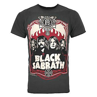 Amplified Black Sabbath Poster Men's T-Shirt