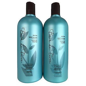 Bain de terre jasmim cabelo shampoo e condicionador dupla 33.8 oz cada