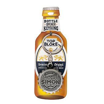 History & Heraldry Keyring - Simon Bottle Opener