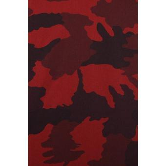 Italian shirts-Slim Fit shirt-Blouse Classic Army Pattern-Bordeaux