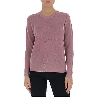 Laneus Mgd1264cc8rosa Women's Pink Cotton Sweater