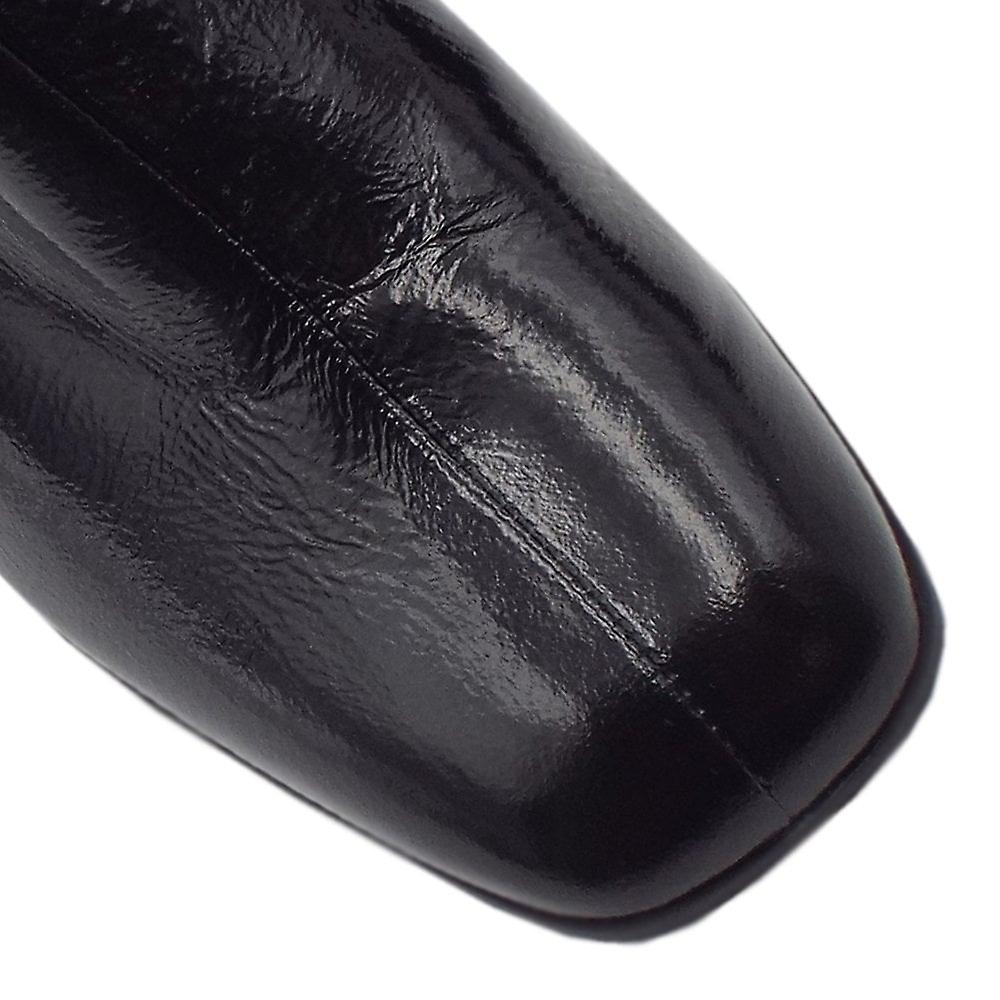 Högl 8-10 4725 Muse Stilige Ankelstøvler I Svart Knitre