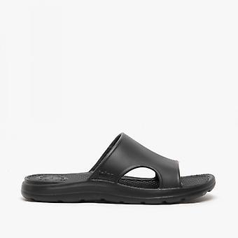 Totes Sol Bounce 0354 Mens Everywear Slide Sandals Black