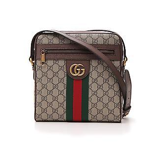 Gucci 54792696iwt8745 Hombres's Bolsa de mensajero de cuero beige