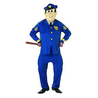 Top Cat Unisex Officer Dibble Costume