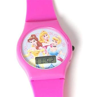 Disney Princess Digital Hot Pink Strap Girls Watch