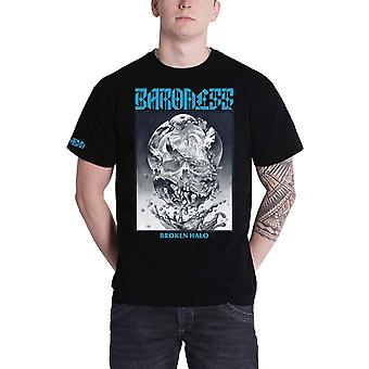 Baroness T Shirt Broken Halo Band Logo new Official Mens Black