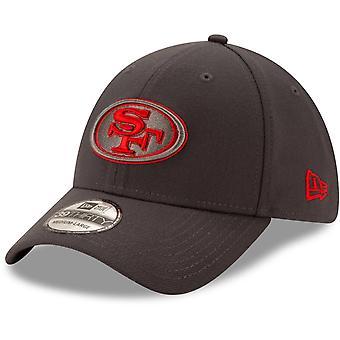 عصر جديد 39Thirty Flexfit كاب -- سان فرانسيسكو 49ers الفحم